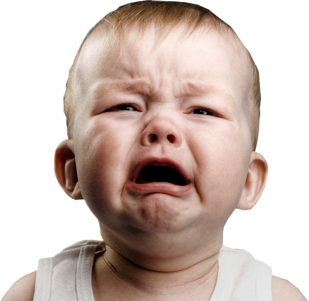 Crying-baby-white-background