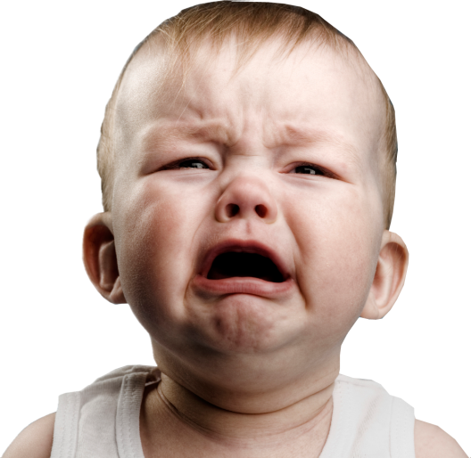 Crying-baby-white-background