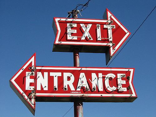 entrance-exit