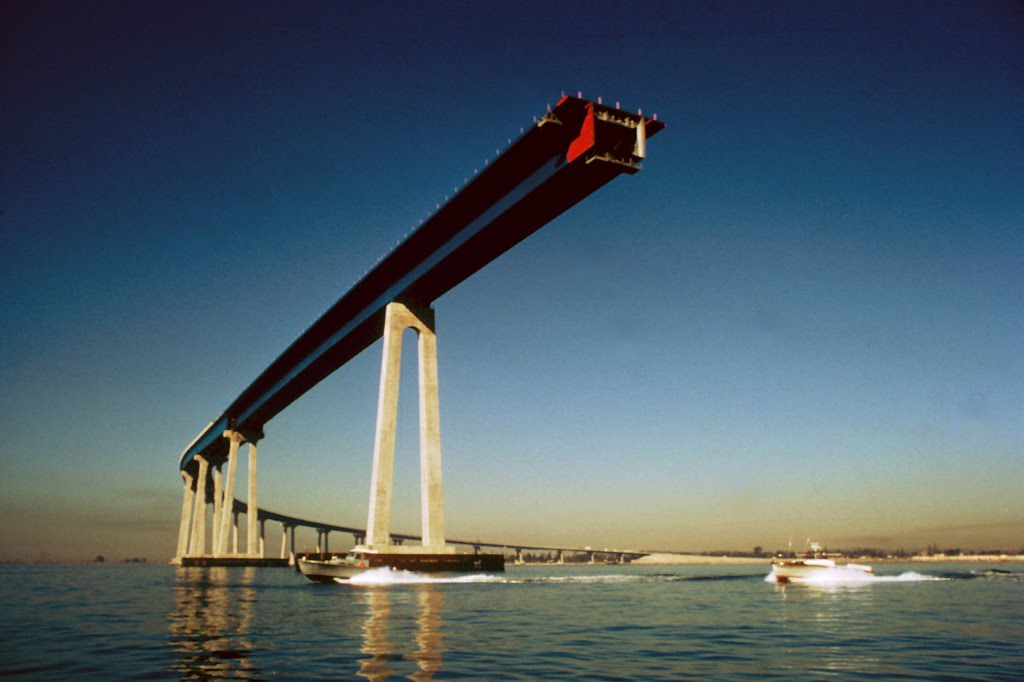 San Diego Bridge Construction